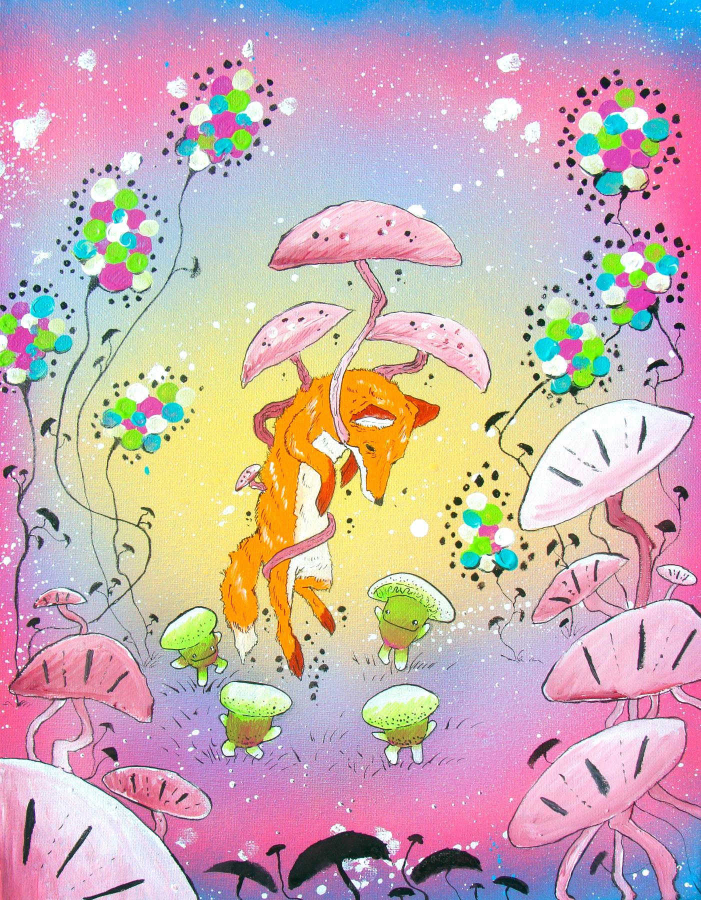 The Fox and the Mushroom People