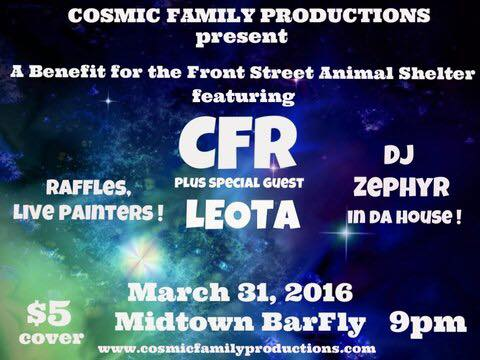 Live Painting benefit show